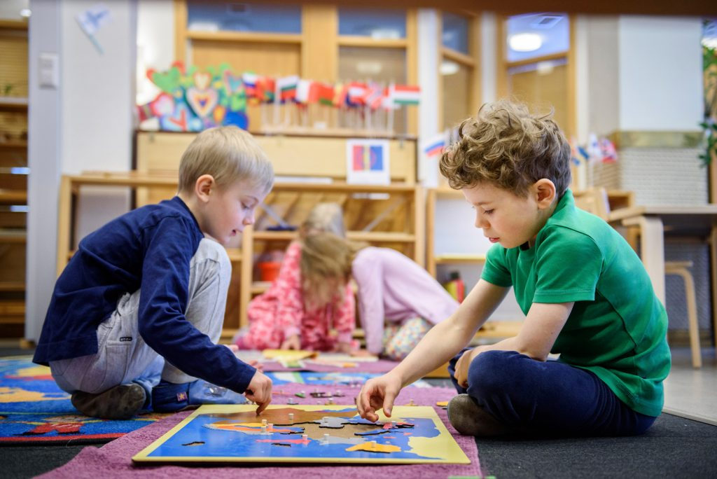 Montessoripedagogiikka kuva Markus Sommers
